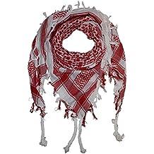 PURECITY©® Cheche Keffieh Shemagh Foulard Palestinien 100% Coton - 110 cm x  110 bae81e8731f