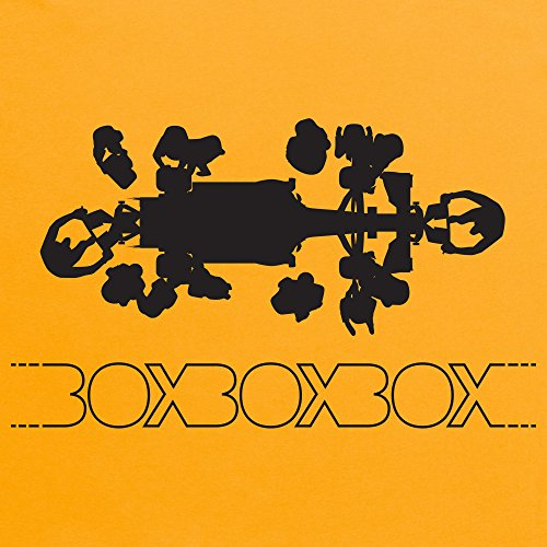 Box T-Shirt, Herren Gelb