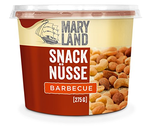 Maryland Snack Nüsse Barbecue, 6er Pack (6 x 275 g)