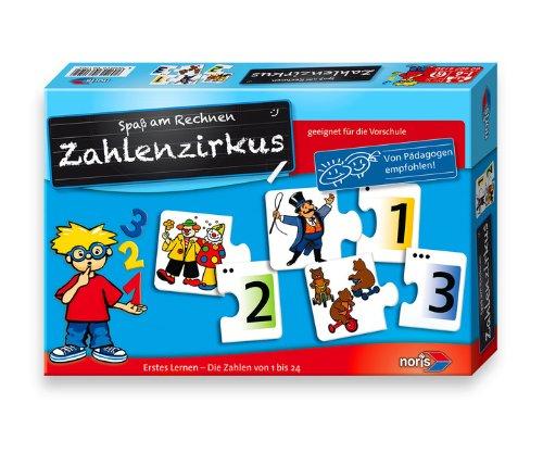 50 - Zahlenzirkus, Kinderspiel (Paris Themen-spiele)