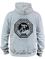 Dirty Ray Arts Martiaux MMA Fighter Sweat homme avec capuche BDT3