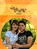 """Personalized Thank You - Picture Photo Greeting Card - Yellow & Orange Colour (6""""*8"""") - 2 Pcs"""