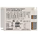Ballast, 2 x 26 - 32W, elettronica, QUICKTRONIC QTP-M