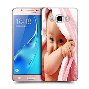 Snoogg Baby On Towel Designer Protective Back Case Cover For SAMSUNG GALAXY J5 2016 J510X