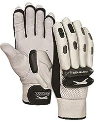 Slazenger Cricket Deportes Pantera Pro Tour Batsman mano protección guantes de bateo para hombre, color multicolor, tamaño Mano derecha niño