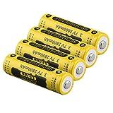3.7V 2800mAh 14500 Akku-große Kapazität Li-Ionen-Akku Ersatz für Taschenlampe Batterie