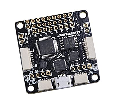 ZCGC-UK F3 Flight Controller Deluxe 10DOF with Brano and Compass for FPV Racing RC Drone Multicopter Quadcopter