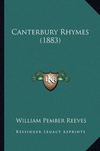 Canterbury Rhymes (1883)