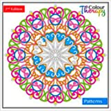 ADULT COLOURING BOOK - 60 DESIGNS TO COLOUR - COLOUR THERAPY - 2nd EDITION 6846 PATTERNS