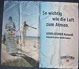 Gerolsteiner - Naturell - Werbebanner ca. 89 x 77 cm