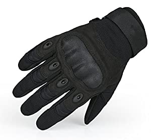 OMGAI Military Special Ops Half and Full Finger Light Assault Gloves Tactical fingerless half finger gloves Airsoft Hunting Riding Cycling Gloves Outdoor Sports Fingerless Army Shooting Gloves by OMGAI