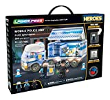 Laser Pegs 18602 Mobile Police Unit, Mixed