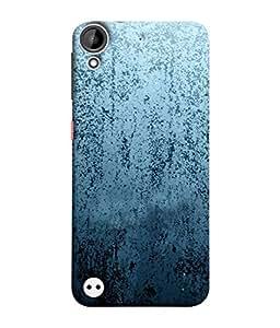 Fuson Designer Back Case Cover for HTC Desire 530 (Wood Lakadi Antique Fashion Beer Dark Grey )