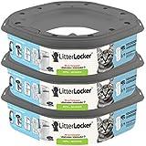LitterLocker Pack de 3 Recharges Octogonales pour LitterLocker Plus pour Chat