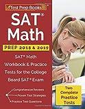SAT Math Prep 2018 & 2019: SAT Math Workbook & Practice Tests
