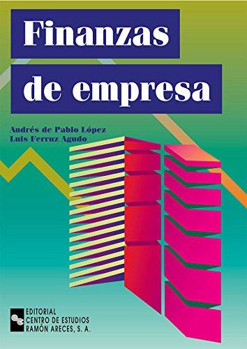 Finanzas de Empresa (Manuales) por Andrés De Pablo López