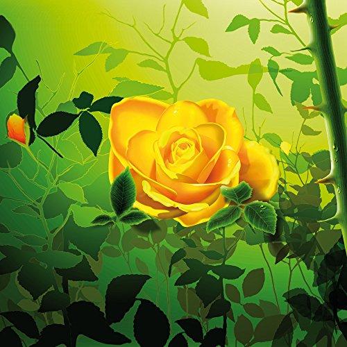 Apple iPhone 5 Case Skin Sticker aus Vinyl-Folie Aufkleber Gelb Rose Blume DesignSkins® glänzend