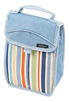 Greenfield Collection Sky Blue Folding Lunch Cool Bag
