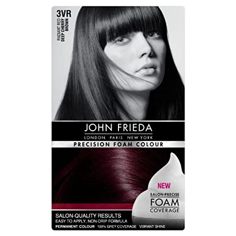 John Frieda Precision Foam Colour Number 3Vr, Deep Cherry Brown