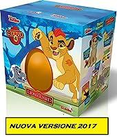 Descrizione L'uovo di Kion, The Lion Guard, il protagonista della serie TV Disney è arrivato. All'interno troverai fantastiche sorprese, un peluche di Kion da cm. 20, che ruggisce, un fumetto per scoprire il mondo di The Lion Guard, un DVD co...