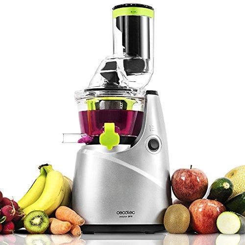 Cecotec Licuadora de Prensado en Frío Cecojuicer Pro. Para Frutas y Verduras,...