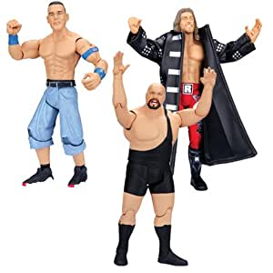 Jakks Pacific - Wwe Catch Classic Superstars 3 Pack - Cena