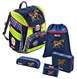 Step by Step Touch DIN Schulranzen-Set 5-tlg Horse Family horse family