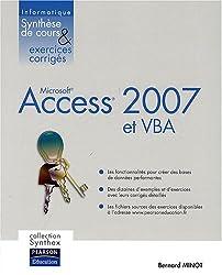 Access 2007 et VBA Synthex