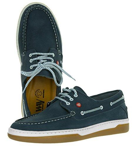 Schuhe Bequem Weich Navy eWGVGd