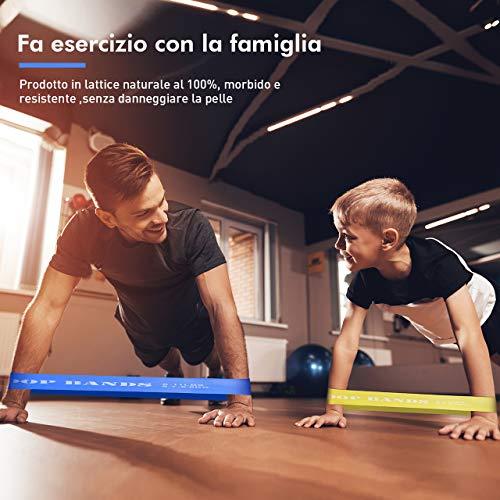Zoom IMG-3 topelek elastiche fitness banda elastica