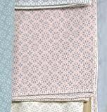 David Fussenegger Baumwolldecke Jade Kleinmuster GOTS Zertifiziert, Baumwolle, Altrosa, 200 x 150 cm