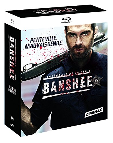 Banshee BOX Staffel/Season 1-4 BLU-RAY BOX UNCUT IMPORT MIT DEUTSCHEM TON Uncut-box