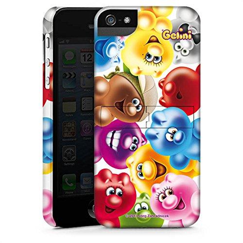 Apple iPhone X Silikon Hülle Case Schutzhülle Gelini Gummibärchen Bunt Premium Case StandUp