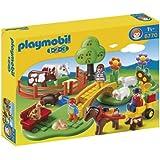 Playmobil 123 - 6770 - Figurine - Coffret Famille à La Campagne