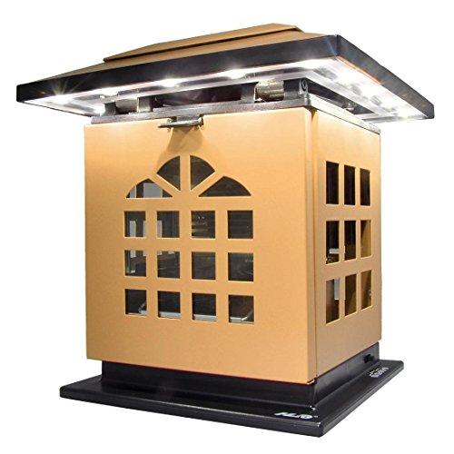 erzen-Leuchte Schreibtischlampe mit Akku 2004 mAh Power Bank Ladegerät zum Aufladen von Smartphones und Tablet,mobil aufladbare LED Tischlampe auch als Kerzenständer ersetztbar, Gelb (Tragbare Elektrische Generator)
