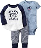 Carter's 3-teiliges MIX 'N MATCH Baby / Kleinkind Boys Bodysuit & Pant Set(3 Monate)