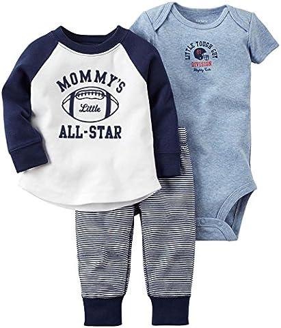 Ensemble 3 pièces MIX 'N MATCH de Carter pour bébés / tout-petits(3 mois)