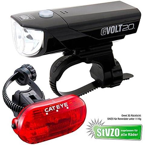 Cateye beleuchtungskit G Volt 20HL- el350g con TL-ld135g, fa003522020