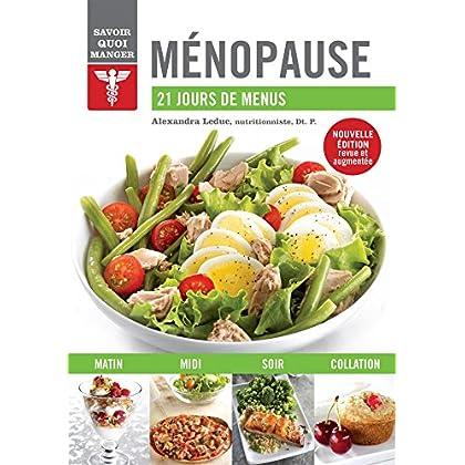 Ménopause : 21 jours de menus