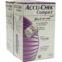 ACCU CHEK Compact Teststreifen 102 St preisvergleich bei billige-tabletten.eu