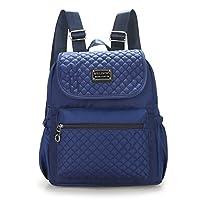Women Nylon Shoulder Bags, Veriya Lightweight Waterproof Casual Travel School Backpack Rucksack Student Schoolbag Multipurpose Daypack for Teenager Ladies -Large Capacity