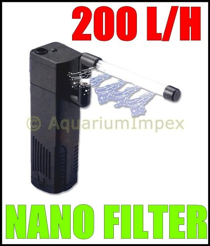 RESUN MAGI-200 Innenfilter inkl. Aktivkohle-Box MAGI 200 L Filter für NANO