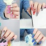 Fingernail Pegatinas Nail Art Decal Autoadhesivo Pegatinas de uñas Impermeables al medio ambiente Para los cabritos, Maternal, paquete de la belleza del clavo de la belleza de 96 pedazos