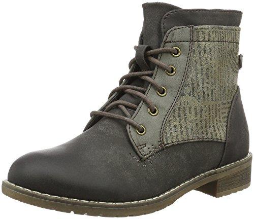 Jane Klain Damen Bootie Combat Boots Braun (310 Sterline)