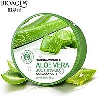 Portal Cool Cuidado de la piel facial Aloe Vera Gel suave Tratamiento Crema facial para la reparación hidratante húmeda After Sun Cream 220g