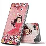 GeeMai HTC Desire 12 Hülle, Premium Flip Case Tasche Cover Hüllen mit Magnetverschluss [Standfunktion] Schutzhülle Handyhülle für HTC Desire 12 Smartphone, CH15