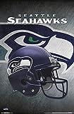 Unbekannt Trends International Seattle Seahawks Helm Wand Poster, 55,9cm von 86,4cm