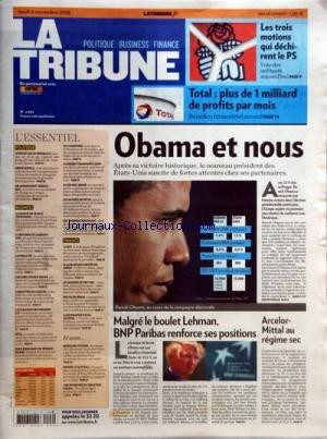 tribune-la-no-4035-du-06-11-2008-elections-americaines-obama-et-nous-malgre-le-boulet-lehman-bnp-par