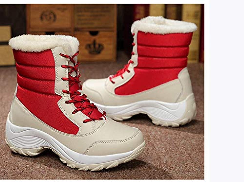 QBSOE Stivali da Neve Stivali da Donna Scarpe Invernali Impermeabili Impermeabili Impermeabili Scarpe da Neve per Donna Mantenere Caldi... | Qualità e consumatori in primo luogo  8f8c4f