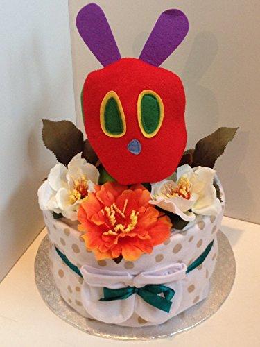 1Tier lujo Unisex Hungry Caterpillar-tarta pañales